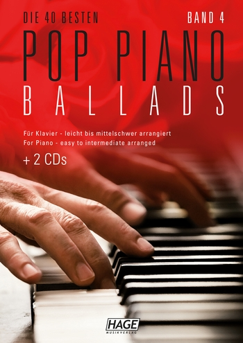 Die 40 besten Pop Piano Ballads Band 4